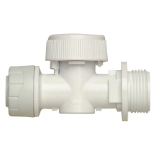 Polyplumb Appliance Valve Warm 15mm Grey