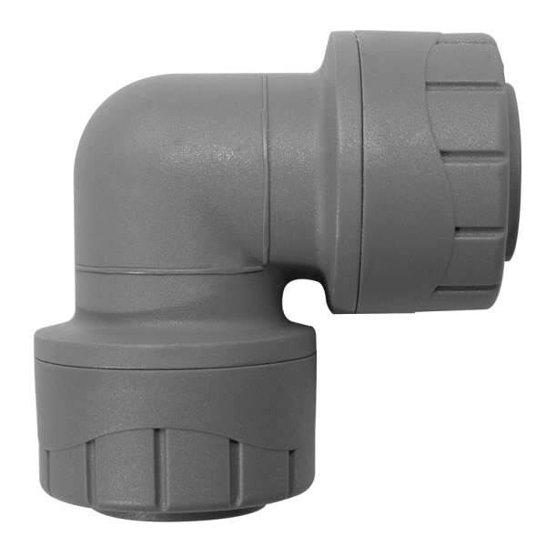 Polyplumb Elbow Grey 15mm