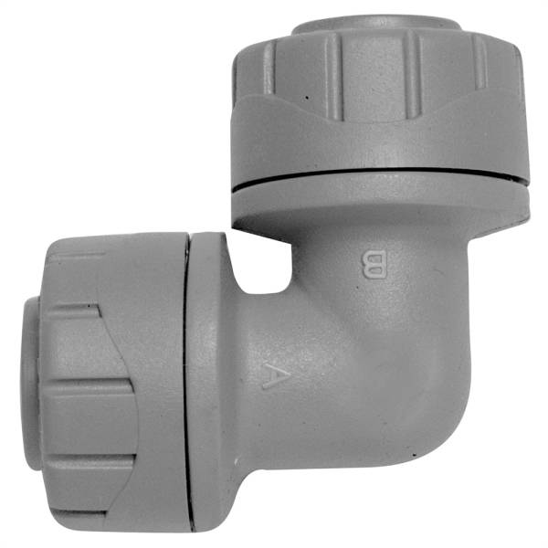Polyplumb Elbow Grey 22mm