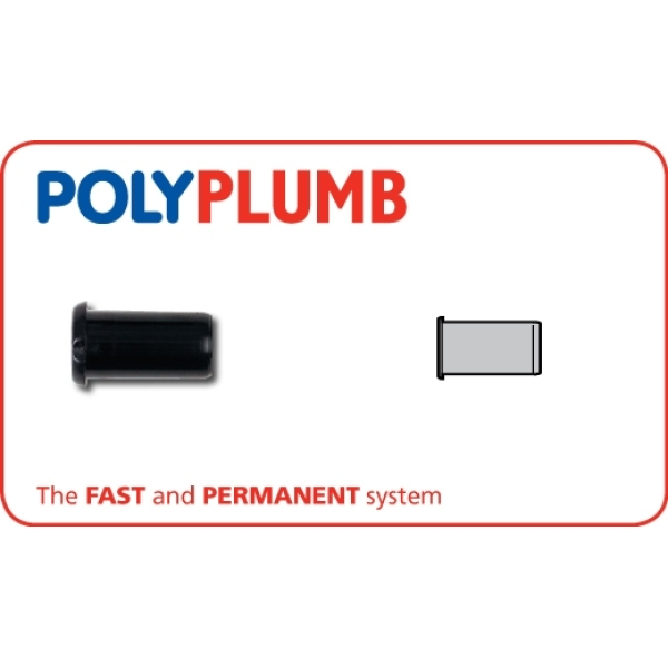 Polyplumb Support Sleeve Plastic 10mm