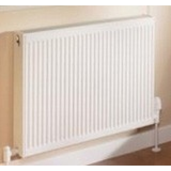 Quinn Warmastyle Radiator White Double Panel+ 600mm x 600mm