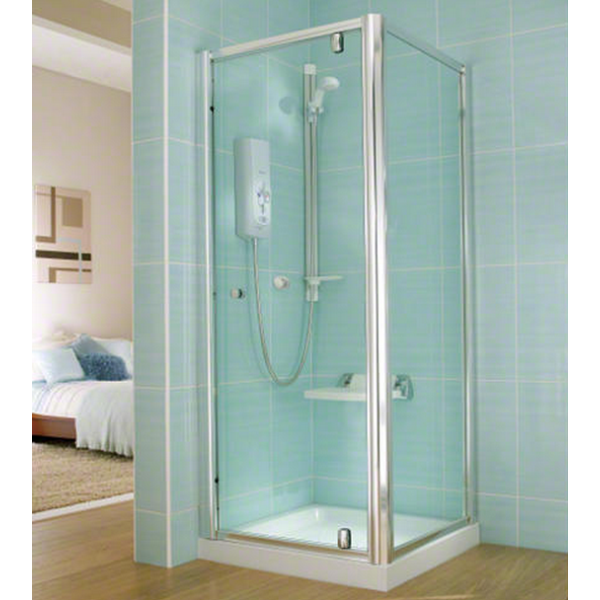 Mira Advance ATL Flex 9.0kw Electric Shower White Chrome