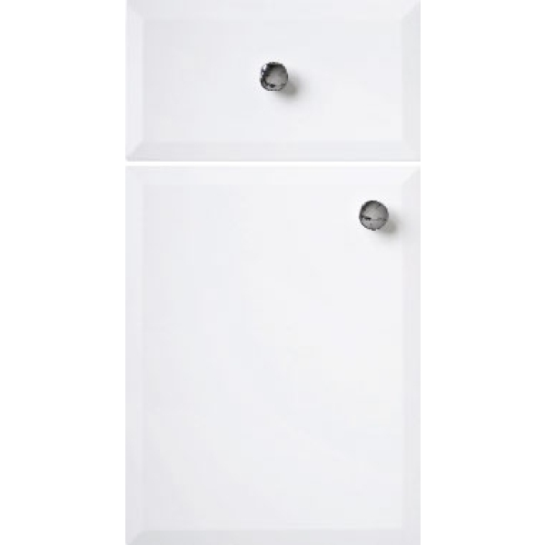 Atlanta Slimline Base Unit 350mm Milan Matt White