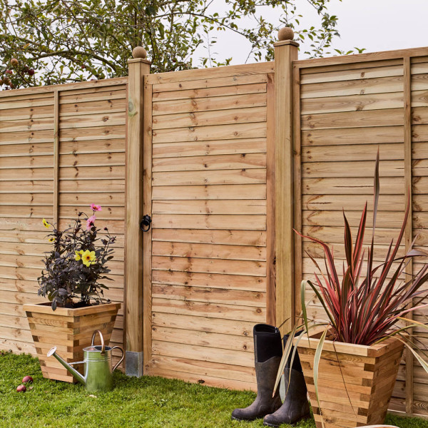 Supafence Lap Fence Panel 1.5m