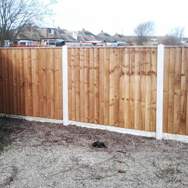 Featheredge Board Brown 22x150mm x1.8m