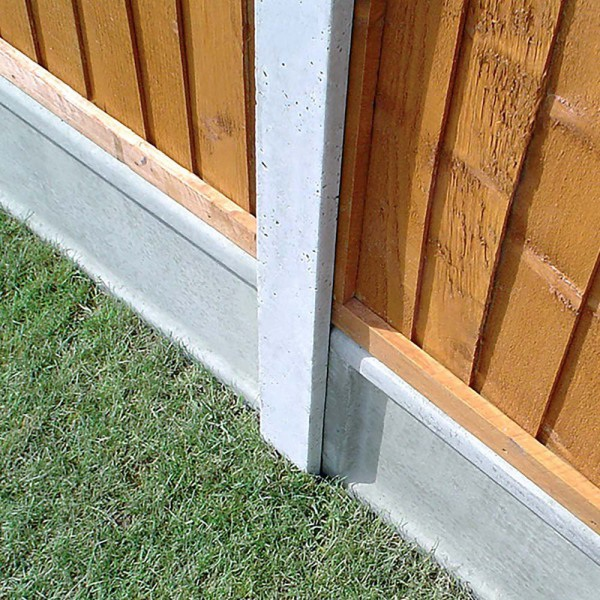 Strongcast Ultra Lightweight Slotted Concrete Fence Post. Intermediate Post 2660mm