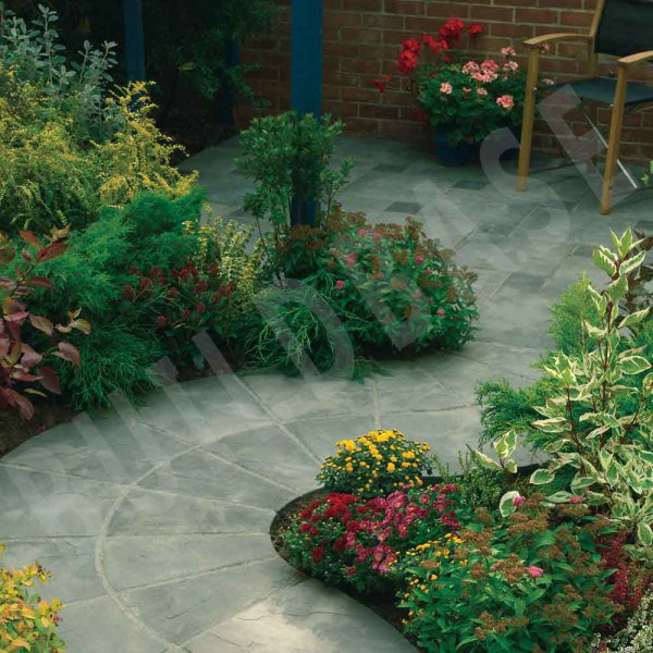 Bradstone Old Riven Patio Pack 2450 x 2150mm Autum
