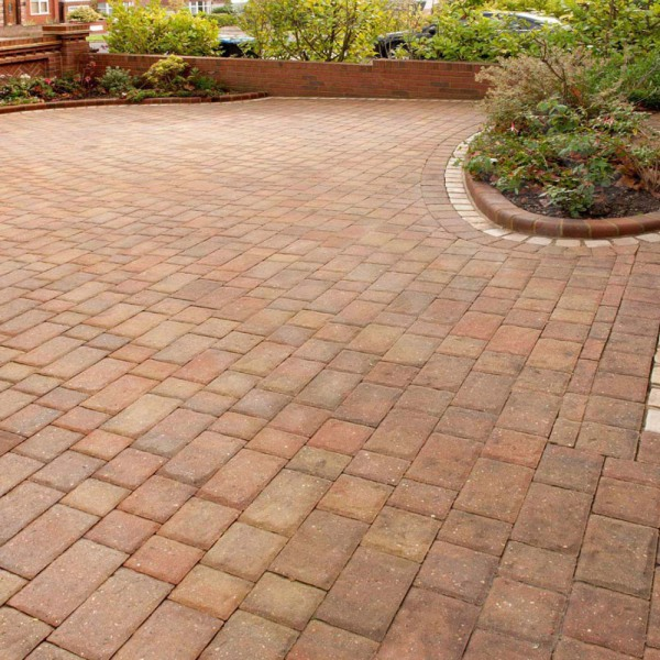 Regatta Barrow Block Paving Pack Autumn Gold