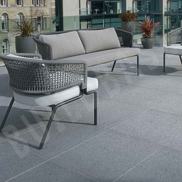 Pauta Porcelain Paving Pauta Porcelain Paving Mid Grey 900x450