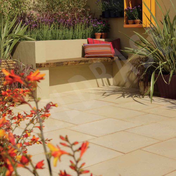 Aged Riven Patio Pack Cotswold