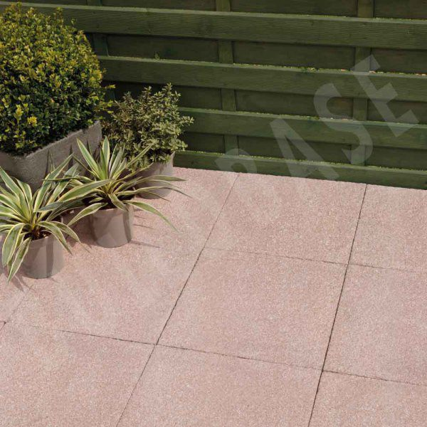 Textured Paving Red 450x450