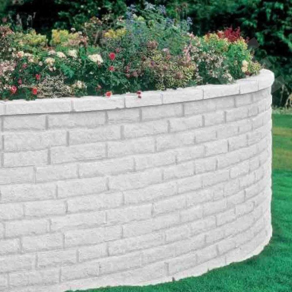 Pitched Walling Grey 290x63mm