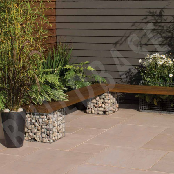 Smooth Sandstone Ivory Paving