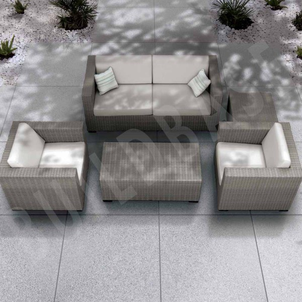 Granite Paving Silver Grey 900x900