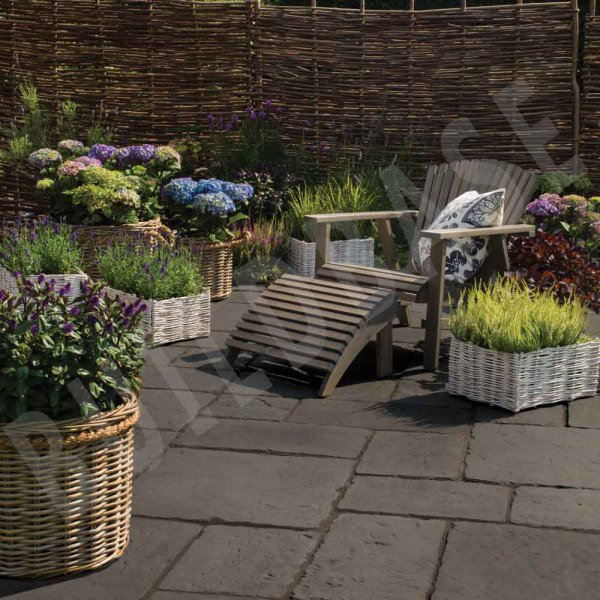 Old Town Paving Old Town Patio Pack Dark Grey