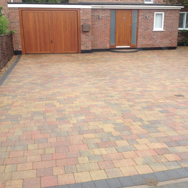 Beta Block Paving 280x210mm Autumn Gold