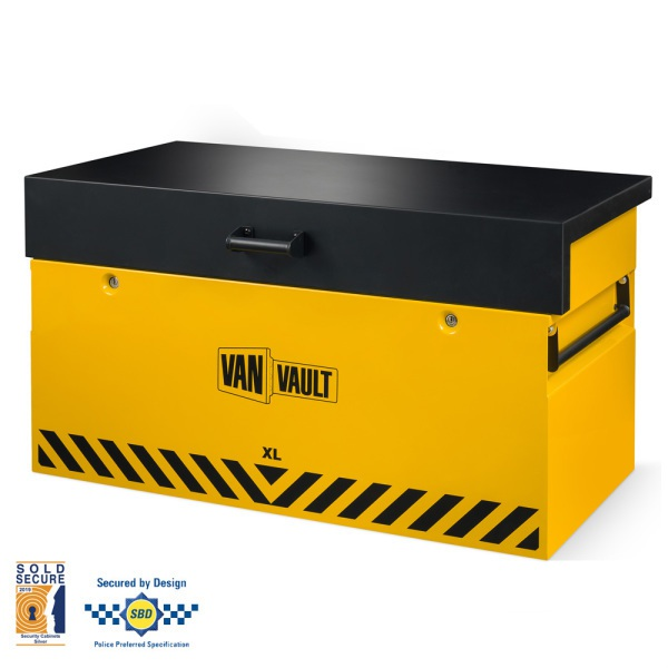Secure Storage Box Van Vault XL Demo2