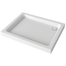 Mira Flight Rectangle Shower Tray 1000mm x 760mm  White
