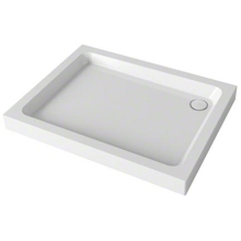 Mira Flight Rectangle Shower Tray 1000mm x 800mm 4 Upstands White