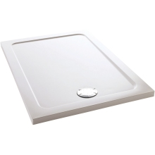 Mira Flight Rectangle Low Shower Tray 1000mm x 800mm White