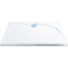 Coram Coratech Slimline Shower Tray 1000x800mm White