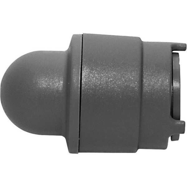 Polyplumb Demountable Socket Blank End Grey 10mm