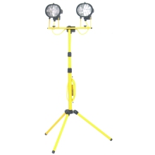 HSC Powerman Folding Leg Double Tripod Light 110V