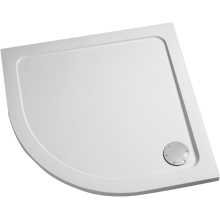 Mira Flight Quadrant Low Shower Tray 1200mm x 900mm Left Handed White