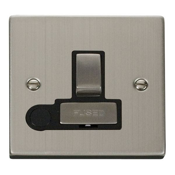 Click VPSS551BK 13A Fused 'Ingot' Switched Connection Unit With Flex Outlet
