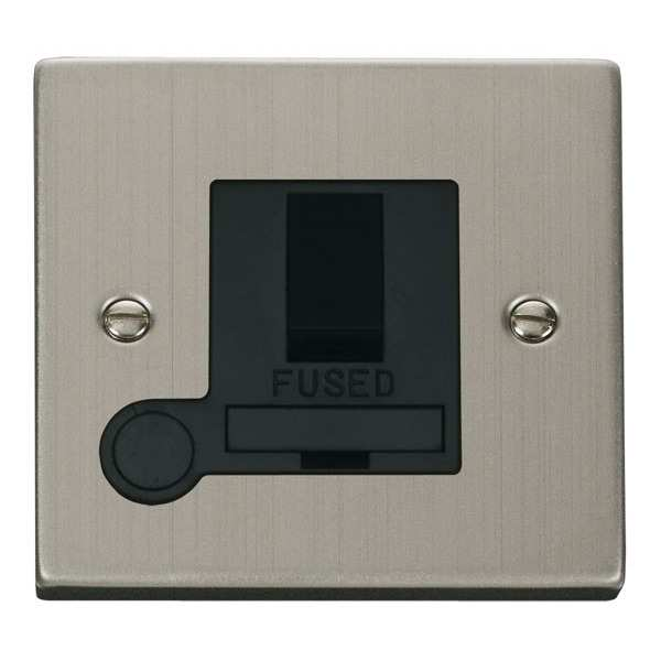 Click VPSS051BK 13A Fused Switched Connection Unit With Flex Outlet