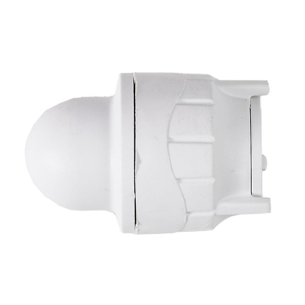 Polyfit  Socket Blank End White 15mm