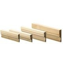 15x145mm Redwood S/B Dressed Ogee Skirting