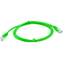 Connectix Cat 5E Patch Lead 1m Green