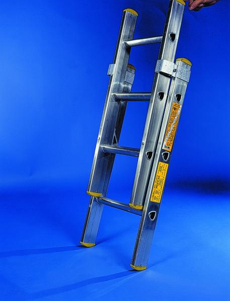 2 section ladder. Black Bedroom Furniture Sets. Home Design Ideas