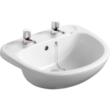 Ideal Standard Studio Semi-Countertop Basin 560 2 Taphole