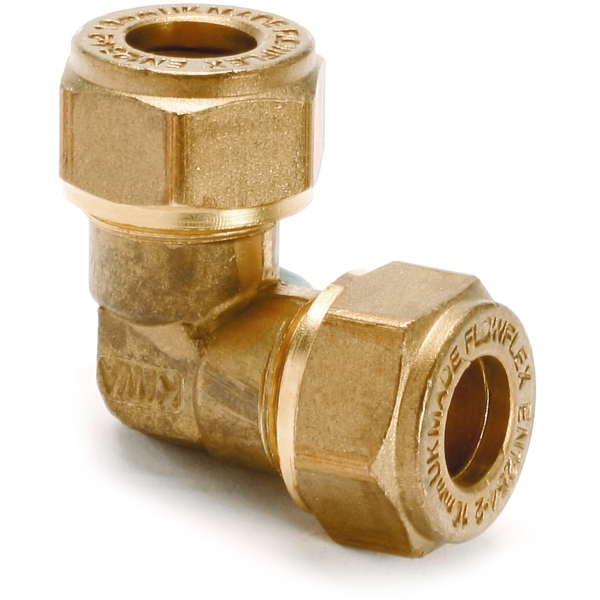 Elbow Equal 22mm Brass