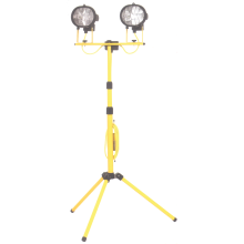 HSC Powerman Folding Leg Double Tripod Light 240V