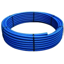 25mm Diameter 25m Medium Density Blue Polythene Tube MDPE