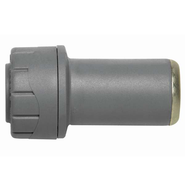 Polyplumb Socket Reducer Grey 28mm x 22mm