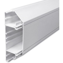 3 Compartment PVC Dado Trunking 3m SLC50/170