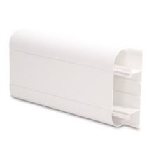 3 Compartment Round Edge PVC Dado Trunking 3M SLR50/170