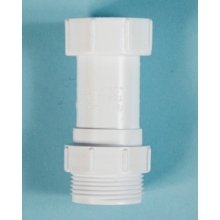 Polypipe Waste Trap Connector Equal White 32mm