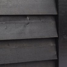 32x175mm x 4.8m Sawn Black Feather Edge FSC Mix