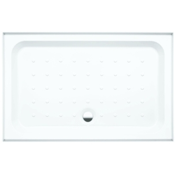 Coram Shower Tray 4 Ups 2 Panel 1200mm x 760mm White