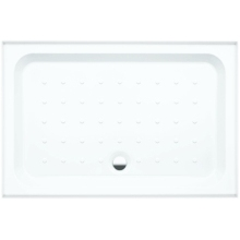 Coram Shower Tray 4 Ups 2 Panel 1200mmx 800mm White