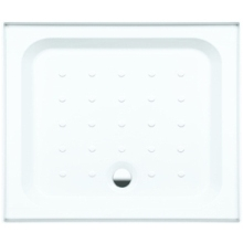Coram Shower Tray 4 Ups 2 Panel 900mm x 760mm White