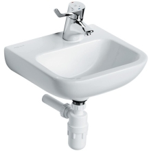 Armitage Shanks Portman 21 Basin No Overflow Or Chain Hole 400mm One Right Hand Taphole