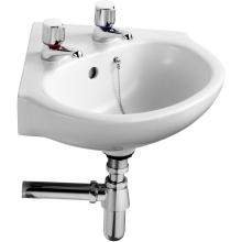 Ideal Standard Studio Corner Basin 450 450 2 Taphole