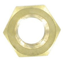 4mm Brass Nuts & Washers Brass Nut IBNM6 M6