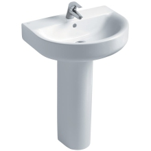 Ideal Standard Concept Arc 60cm Basin to be used with a Pedestal or Furniture 60cm One Taphole